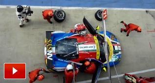 Así son los pit stop en diversas competiciones