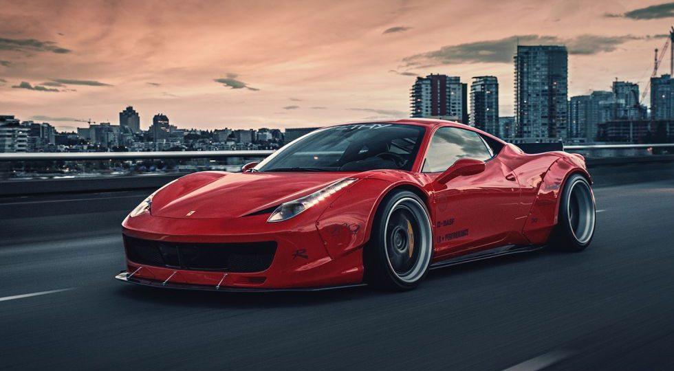 Liberty Walk le da su toque al Ferrari 458 Italia