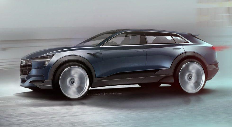 Audi quattro e-tron concept, electrificando los SUV