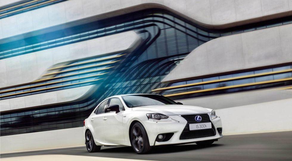 Lexus presenta la Sport Edition para el IS 300h