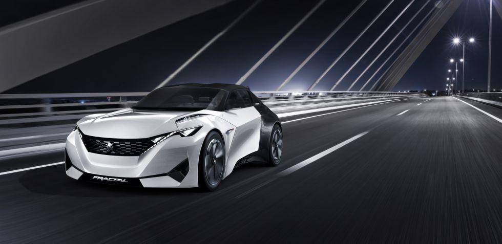 Peugeot Fractal: cupé, cabrio, urbano y eléctrico