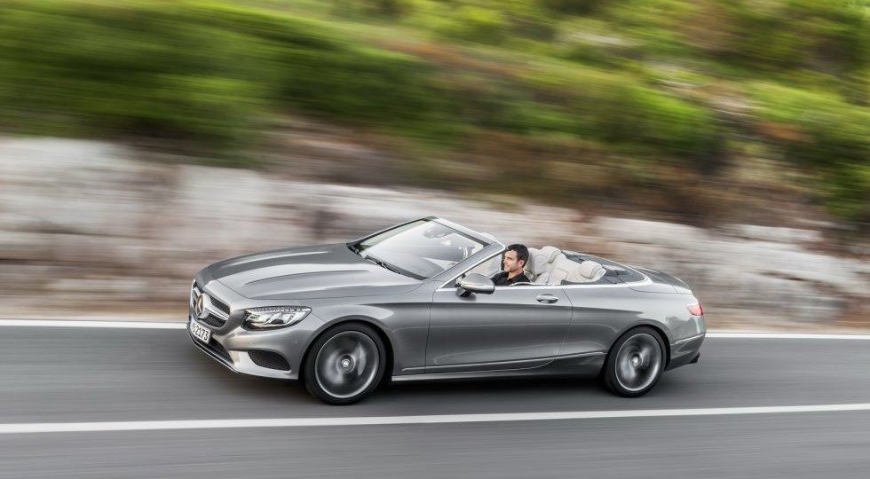 El Clase S Cabrio es oficial