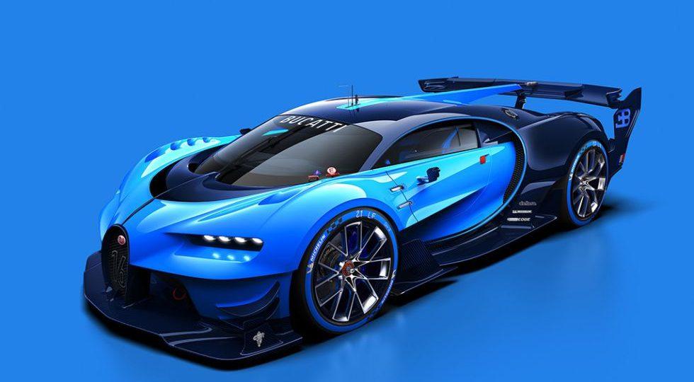 Bugatti Vision Gran Turismo, evolución virtual del Veyron