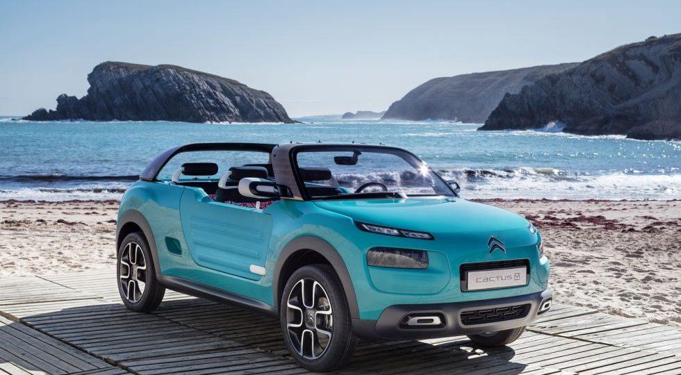 Citroën Cactus M concept, actitud veraniega y aventurera