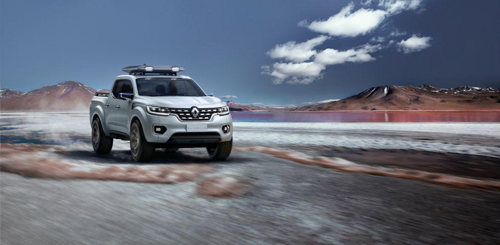 Renault tendrá su pick-up