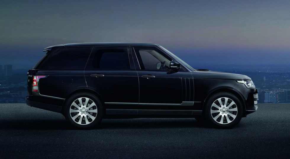 Land Rover presenta el Ranger Rover blindado Sentinel