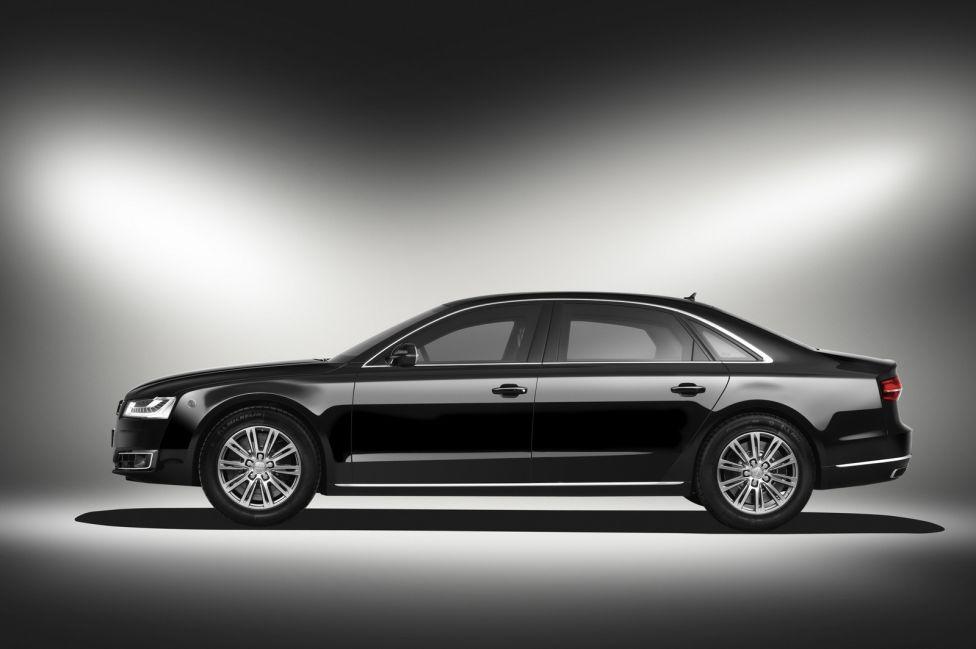 Audi A8 L Security Mariano Rajoy
