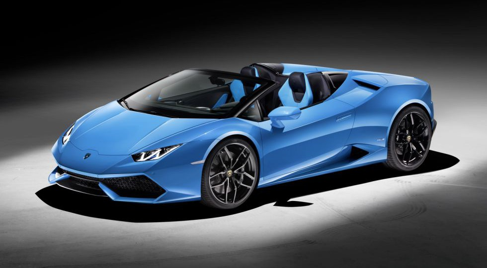 Lamborghini Huracán Spyder, el mini-Aventador se descapota