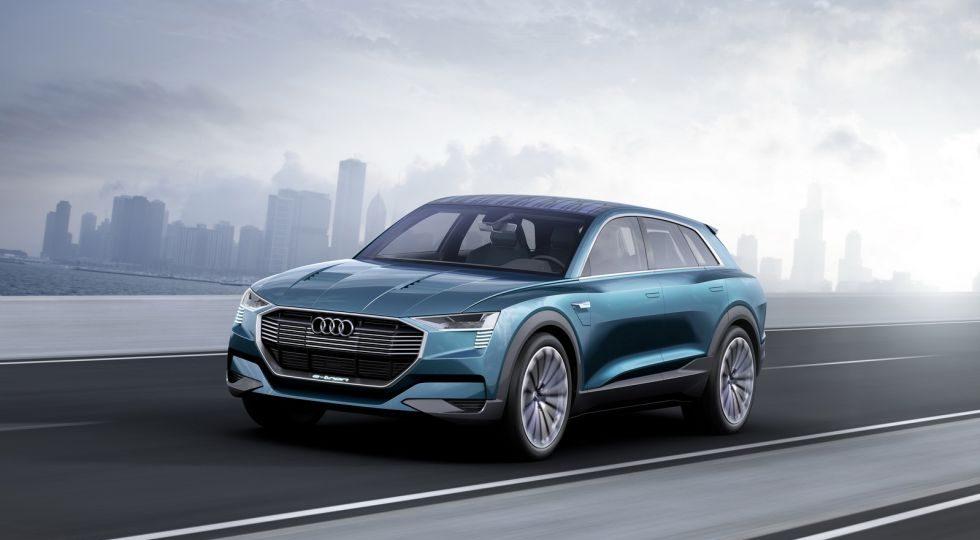e-tron quattro concept, anticipo del SUV eléctrico de Audi