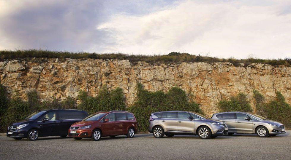 El Ford S-Max domina por precio y dinamismo