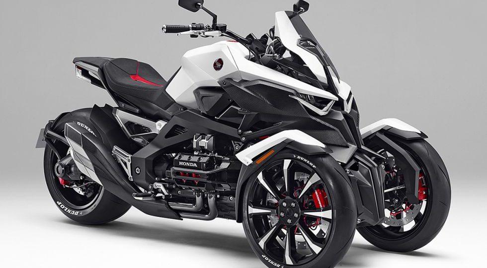 Híbrida, deportiva y trike, así es la nueva Honda Neowing