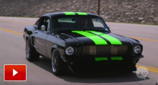¿Un Mustang del 68 eléctrico? Créenos, te va a gustar