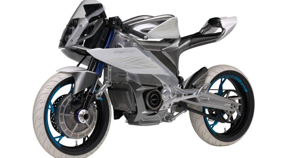 Yamaha presenta una eléctrica ¡con tracción a las dos ruedas!