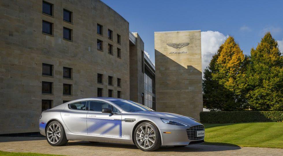 El Aston Martin Rapid se transforma en 100% eléctrico