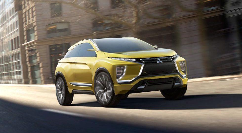eX Concept, apuesta SUV eléctrica de Mitsubishi