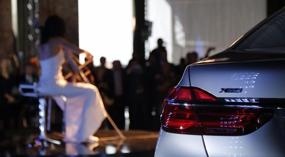 BMW fusiona música y tecnología en la presentación del Serie 7