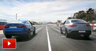 X6 M y GLE63 S Coupé, ahora en una carrera de drag