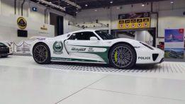 Si, la policía de Dubái tiene un Porsche 918 Spyder