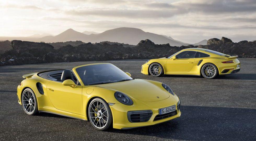 Los 911 Turbo y 911 Turbo S corren más y gastan menos