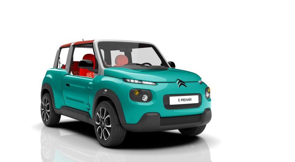 Citroën E-Mehari: el icono revive y se electrifica