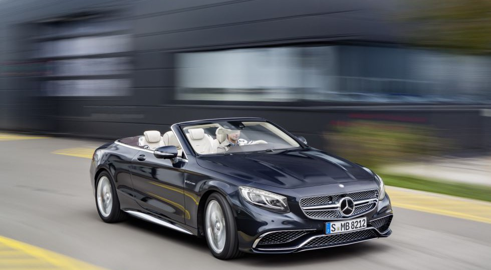 Lo mejor de la Clase S: Mercedes-AMG S 65 Cabriolet