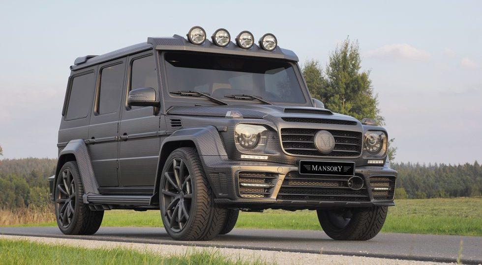 G63 Gronos Black Edition, carbono a mansalva