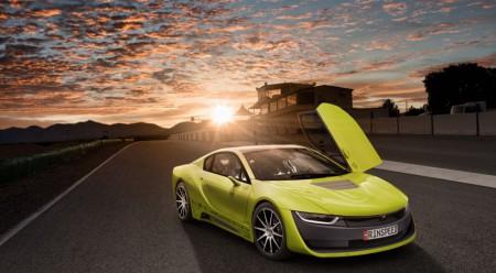 Rinspeed Etos, conducción autónoma basada en el i8