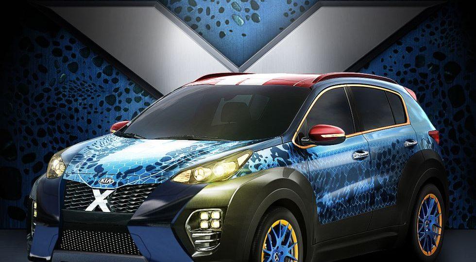 Si Mística de los X-Men fuera un coche… ¿sería esto?