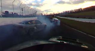 A hacer drift en 360º