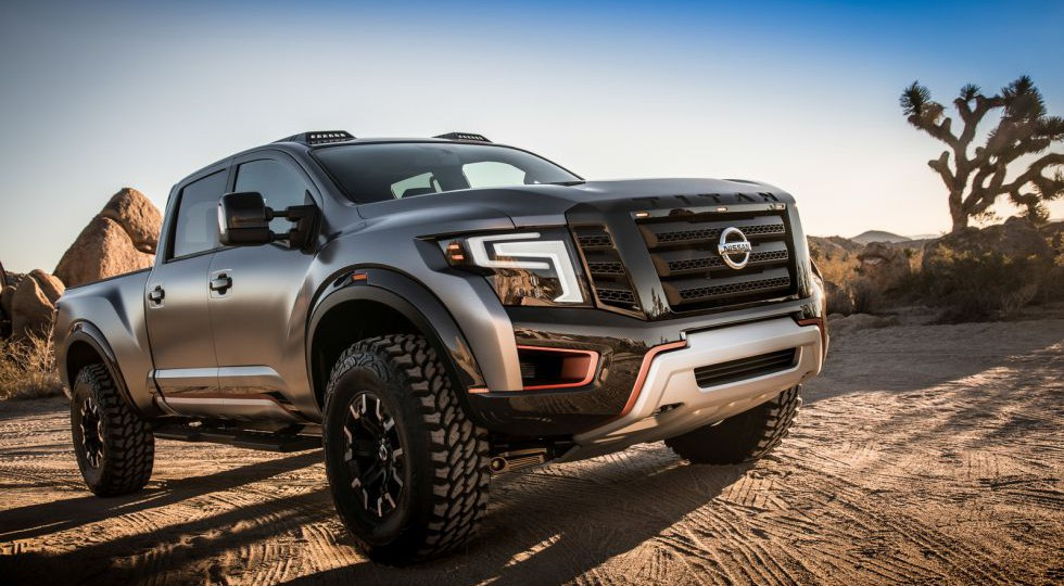 Tu macho alfa interior quiere este Nissan Titan Warrior