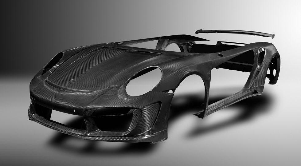 ¿Y si toda la carrocería del 911 fuera de carbono?